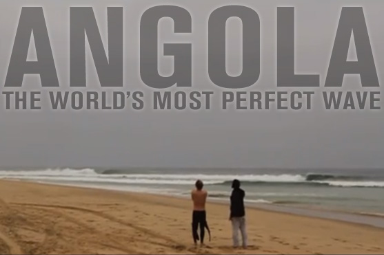 Surfing in Angola