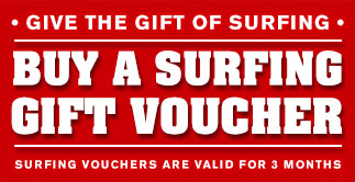 Surfing Gift Vouchers