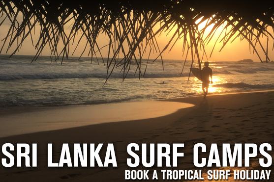 sri lanka surf camps