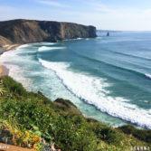 Praia da Arrifana in Aljezur, Portugal