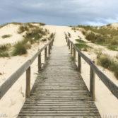No crowds ever at Praia da Tocha in Portugal