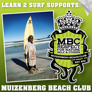 Surfing Outreach Muizenberg Beach
